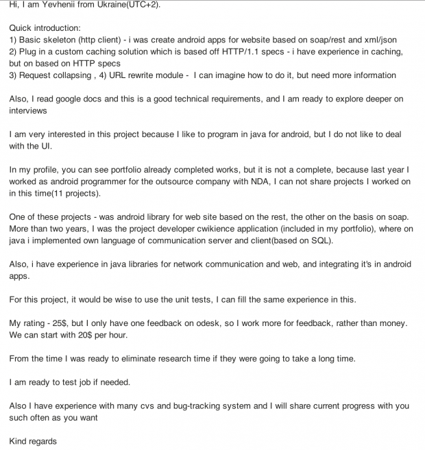 Upwork odesk elance two years experience odesk cover letter spiritdancerdesigns Choice Image