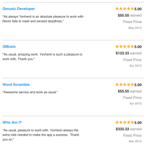 odesk reviews