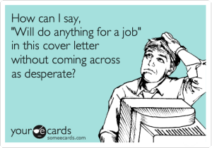 cover letter funny