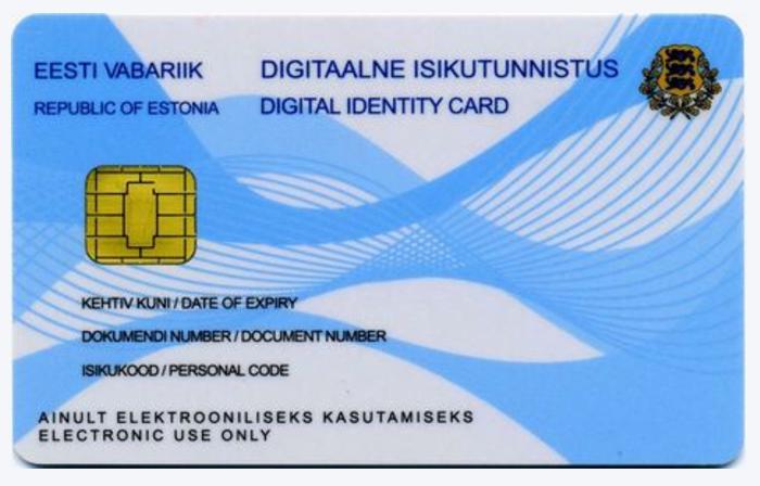 Эстония компания e-Residency
