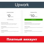 Upwork plus - платный аккаунт