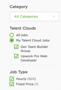 Upwork Talent Cloud