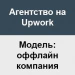 upwork agency offline company
