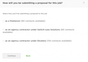 upwork submit proposal