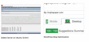 Примеры скриншотов в портфолио на Upwork