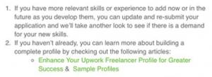 Что делать если Upwork не подтверждает профиль