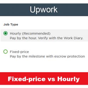 Upwork: fixed vs hourly